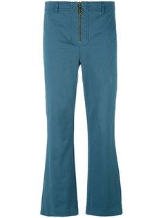 укороченные расклешенные брюки Philosophy Di Lorenzo Serafini