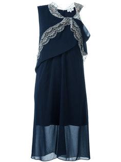 flared asymmetric dress Carven