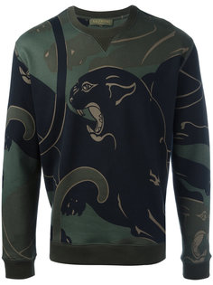 Rockstud panther print sweatshirt Valentino