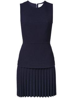 плиссированное мини-платье  Dion Lee
