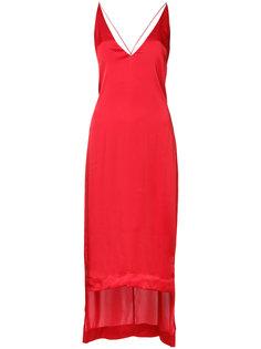 платье на бретелях с V-образным вырезом Dion Lee