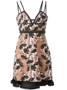приталенное жаккардовое платье Carven