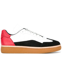 colour-blocked lace-up trainers Alexander Wang