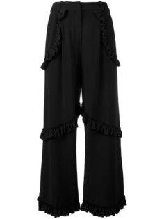брюки с оборками Simone Rocha