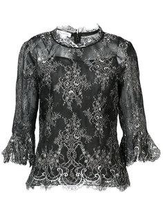 кружевная блузка Oscar de la Renta