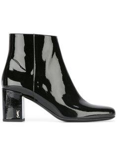 лакированные ботинки Saint Laurent