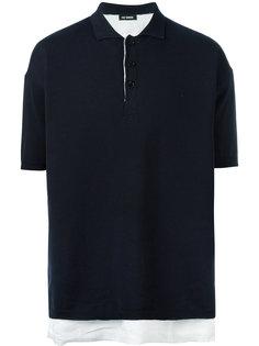 многослойная рубашка-поло Raf Simons