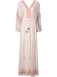 длинное платье с кисточками Ulla Johnson