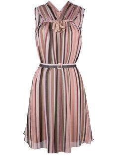 платье в полоску без рукавов Nº21