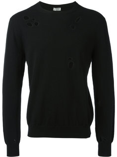 perforated trim jumper  Dior Homme