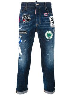 декорированные джинсы Dsquared2