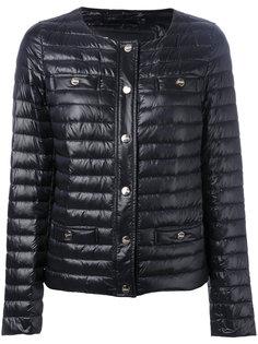 куртка-пуховик без воротника Herno