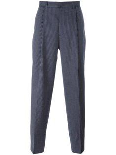 брюки в тонкую полоску E. Tautz