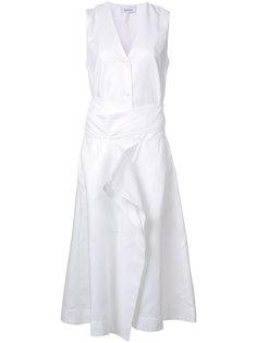 платье с V-образным вырезом Rodebjer