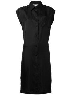 платье-рубашка с рукавами-кейп Maison Margiela