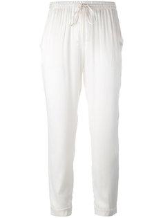 укороченные брюки с эластичным поясом P.A.R.O.S.H.