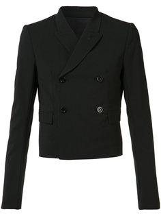 двубортный пиджак Rick Owens