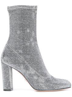 ботинки с люрексом Oscar Tiye