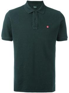 рубашка-поло с вышитым логотипом Aspesi