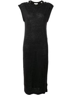платье со шнуровкой на плечах Iro