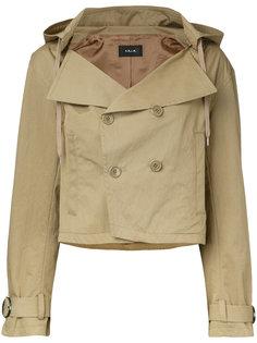 укороченная куртка с капюшоном G.V.G.V.