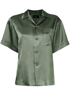 satin shortsleeved shirt  G.V.G.V.