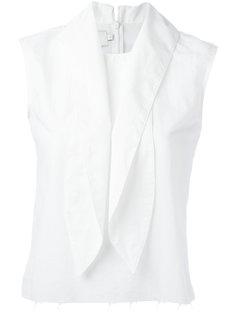 pussybow collar blouse Marquesalmeida