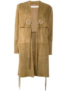 пальто с завязками Drome