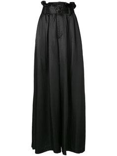 брюки-палаццо с поясом G.V.G.V.
