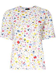 футболка с цветочным принтом G.V.G.V.