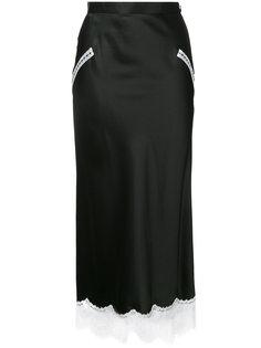 юбка с кружевной отделкой G.V.G.V.