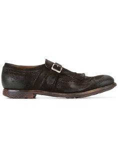классические туфли монки Churchs