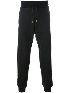 спортивные шорты с диагональными полосками Moncler Gamme Bleu