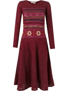 longsleeved tricot dress Cecilia Prado
