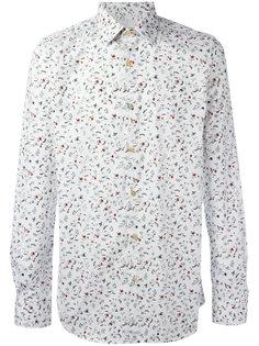 рубашка с цветочным узором Paul Smith
