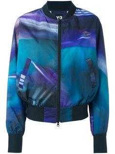 куртка-бомбер с полосатым принтом Y-3