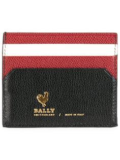 кожаная визитница  Bally