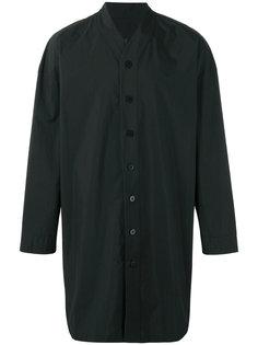 удлиненная рубашка с V-образным вырезом D.Gnak