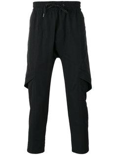 многослойные спортивные брюки  D.Gnak