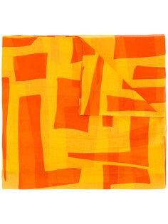 платок с геометрическим узором Loro Piana