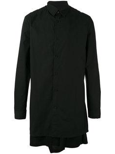удлиненная многослойная рубашка D.Gnak