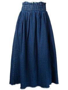 джинсовая юбка  Maison Mihara Yasuhiro