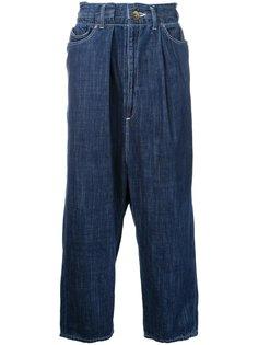 укороченные джинсы  Maison Mihara Yasuhiro