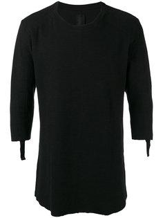 футболка с простроченными панелями Thom Krom