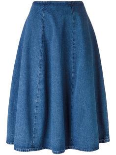 джинсовая юбка А-силуэта Barena