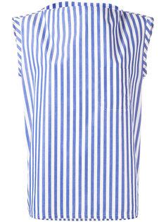 полосатая блузка без рукавов Barena