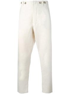 брюки кроя слим Ermanno Gallamini