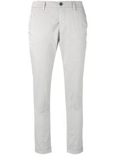 укороченные брюки с подвернутыми манжетами Fay