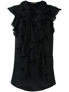 блузка с рюшами Plein Sud