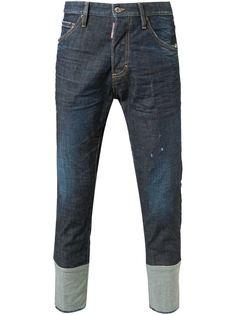 укороченные джинсы слим Dsquared2